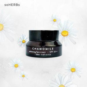 Kem Dưỡng Da soHERBs Chamomile Whitening Face Cream